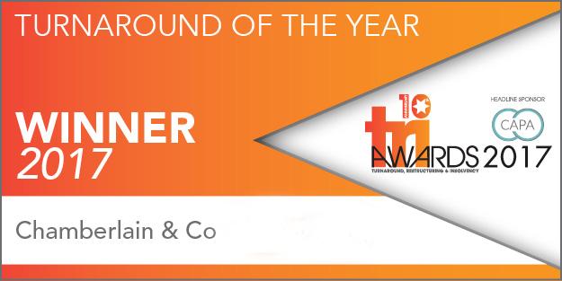 Tri Awards Turnaround of the year winner 2017