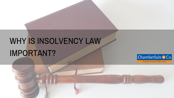 importance of insolvency law